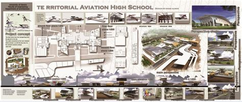 architectural projects graduation projects territorial aviation high school
