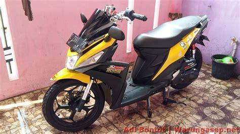 Visor Aerox Windshield Aerox Variasi Aerox modifikasi yamaha mio m3 125 jadi maxi scooter ala