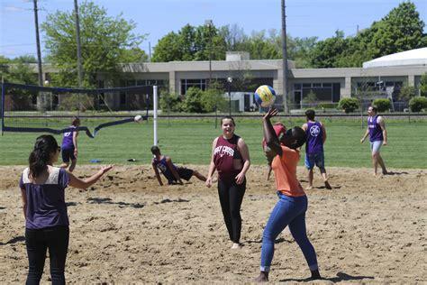 student life sand volleyball tournament  picnic goshen college