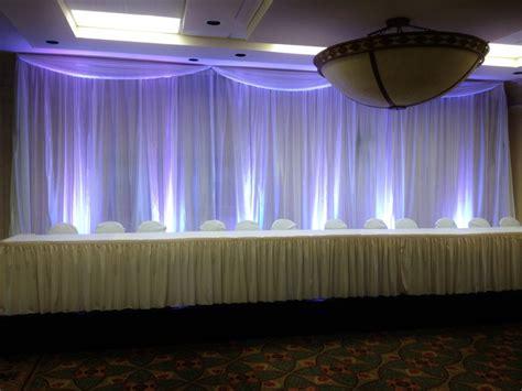 White Wedding Stage Decoration by 10ft H 20ft W White Wedding Backdrop Wedding