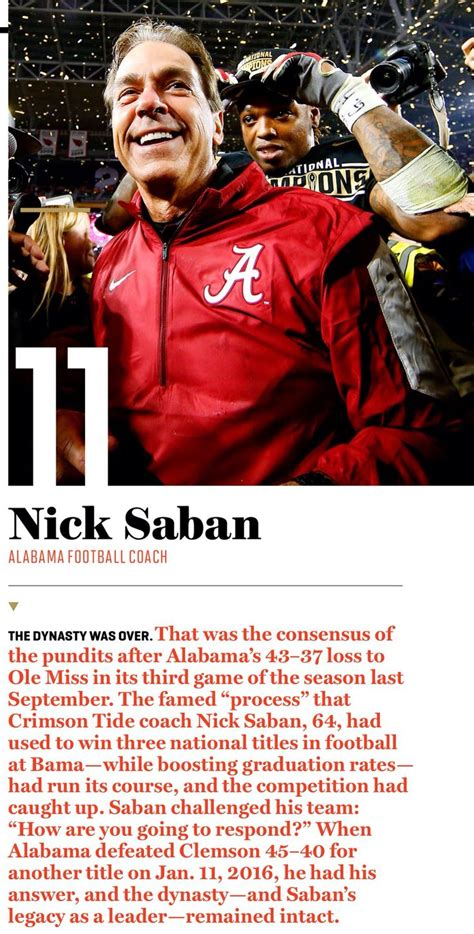 the management ideas of nick saban a leadership study of the alabama crimson tide football coach books 1000 ideas about fortune magazine on magazine