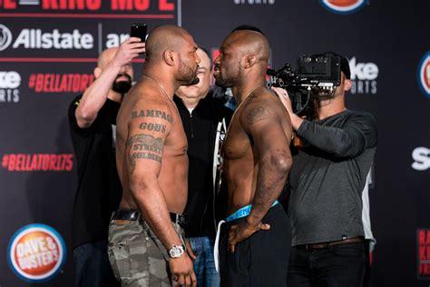 Rage Jackson Vs King Mo Bellator 175 Results Rage Vs King Mo 2 Mma Fighting