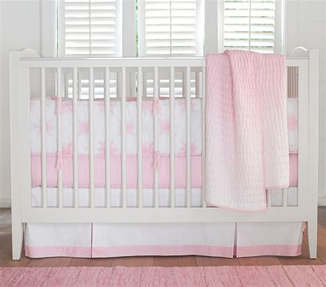 Tie Dye Crib Bedding Coastal Tie Dye Baby Bedding Set Pottery Barn