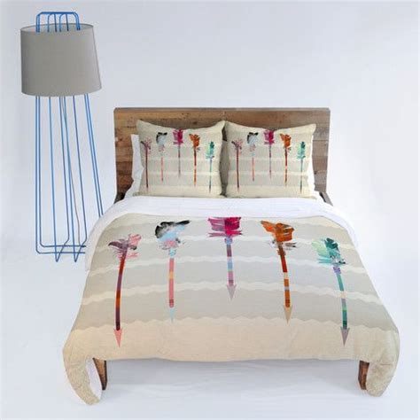 arrow bed iveta abolina feathered arrows duvet cover arrow and