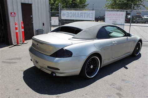 2004 Bmw 645ci Convertible by 2004 Grey Bmw 645ci 2dr Coupe Convertible Able Auctions