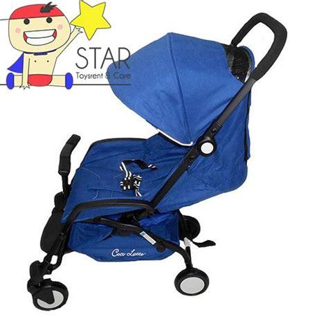 Sewa Stroller Cocoatte Otto N70 Blue toys rent surabaya sewa corner jumperoo sepeda smart trike mainan tikes fisher