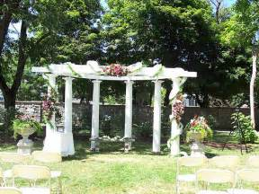 How To Decorate A Pergola by Decorated Wedding Pergola Explore Sonnenbergg S Photos