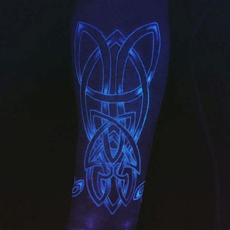 glow in the dark tribal tattoos 60 glow in the tattoos for uv black light ink