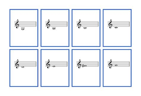 free printable music notes flash cards bass and treble borders for flash cards joy studio design gallery best