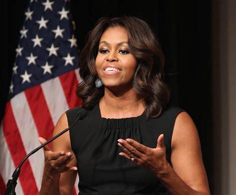 michelle obama photos michelle obama said someone s eyebrows were on fleek