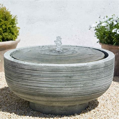 cania international girona outdoor bird bath fountain