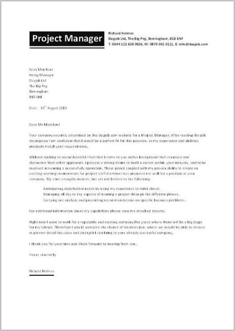 cover letter for resume construction manager cover letter resume exles bjzekmml9l