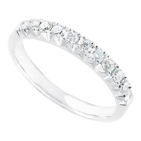 platinum 0 36 carat eternity ring