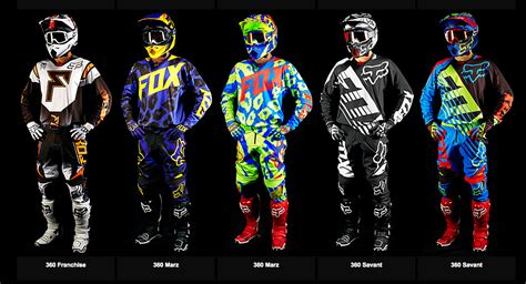 fox motocross gear combos 2015 fox racing 360 combo south bay riders