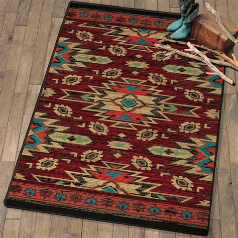 tribal traces southwestern rug