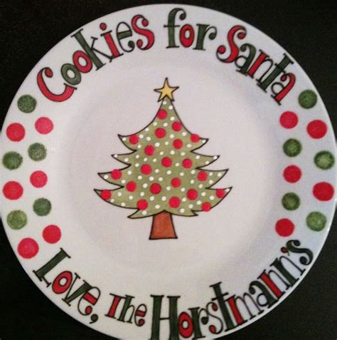 ideas for christmas plate designs 18 best santa plate images on plates dishes and santa plates
