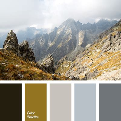 colors of the mountain color of mountains color palette ideas