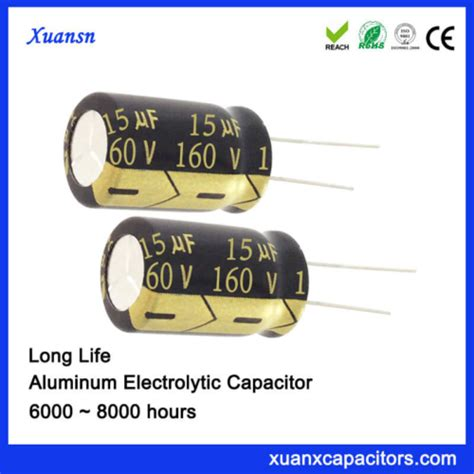electrolytic capacitor lifetime definition 160v 15uf radial electrolytic capacitor 8000hours archives dongguan xuanxuan