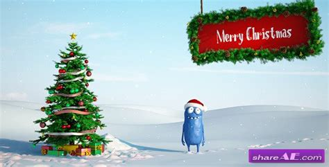 templates after effects christmas free christmas bobby 2 after effects project videohive