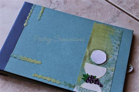 scrapbooking tutorial segnaposto album scrapbooking prima comunione my card creative