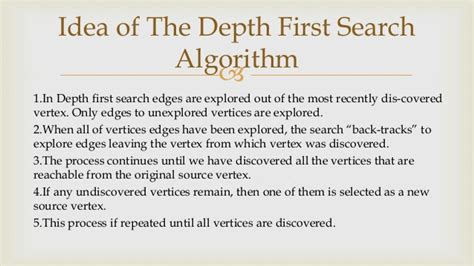 In Depth Search Depth Search And Breadth Searching