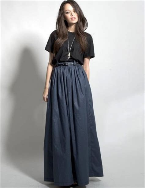 high waisted maxi skirt plus fashion