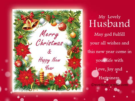 christmas messages for husband wordings and messages