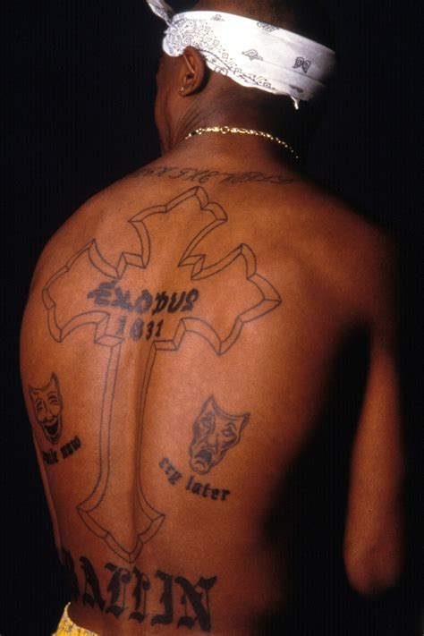 tupacs tattoos tupac divided soul cuepoint medium