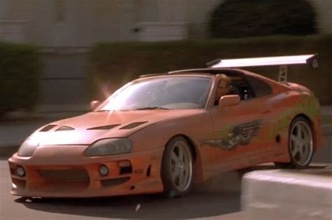 toyota supra side top 20 cars of quot the fast and the furious quot series photo