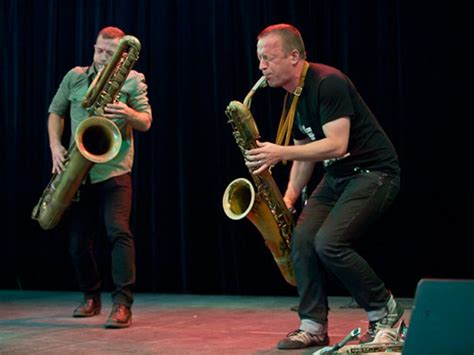 the blustery blowouts of saxophonists colin stetson and
