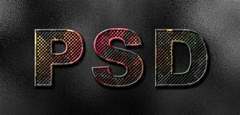 psd pattern metal how to create eroded metal text with photoshop