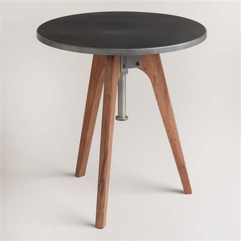 round accent tables round eslynn swivel accent table world market