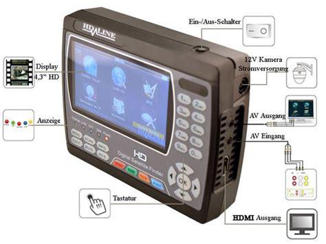 Finder Ucsb Sat Finder Hd 900 Satfinder Messger 196 T Satelliten Finder