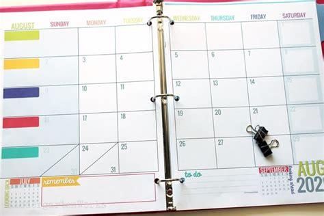 printable   calendar template kindergartenworks