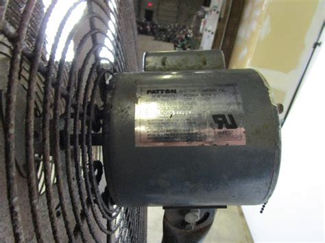 patton industrial heavy duty fan patton industrial heavy duty air circulator fan property