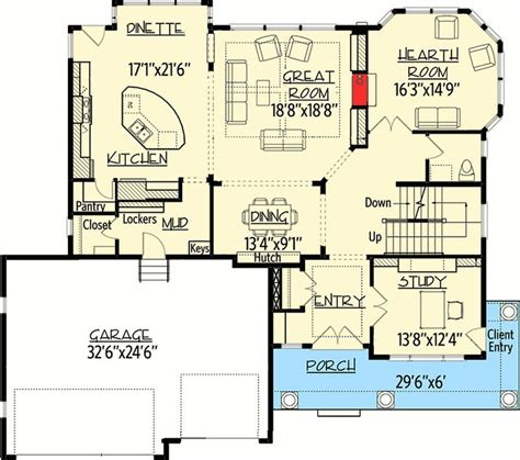 Open Floor Plan Craftsman by Plan 73354hs Storybook House Plan With Open Floor Plan