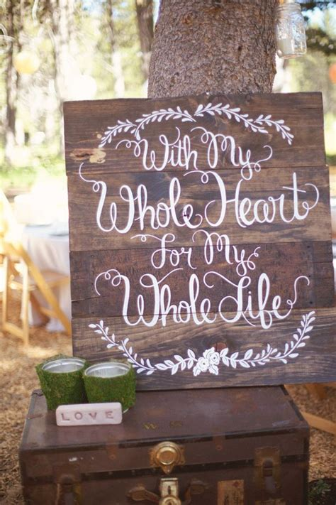 s in ideas 30 awesome rustic wedding sign ideas