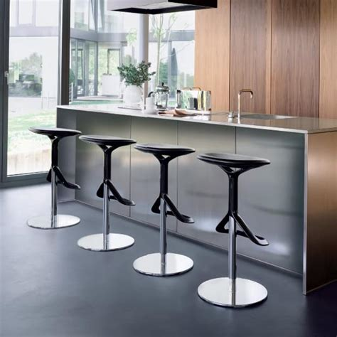 modern kitchen bar stools modern bar stools and kitchen countertop stools in soft shapes