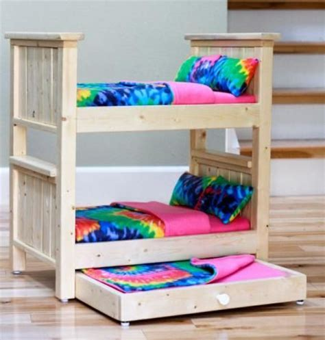 diy american girl doll bed ana white build a star doll closet for american girl or