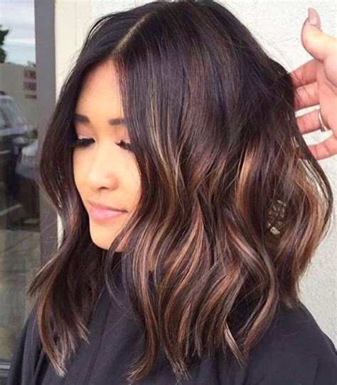 hair highlights for the spring with dark hair 45 sunny and sophisticated brown with blonde highlight looks