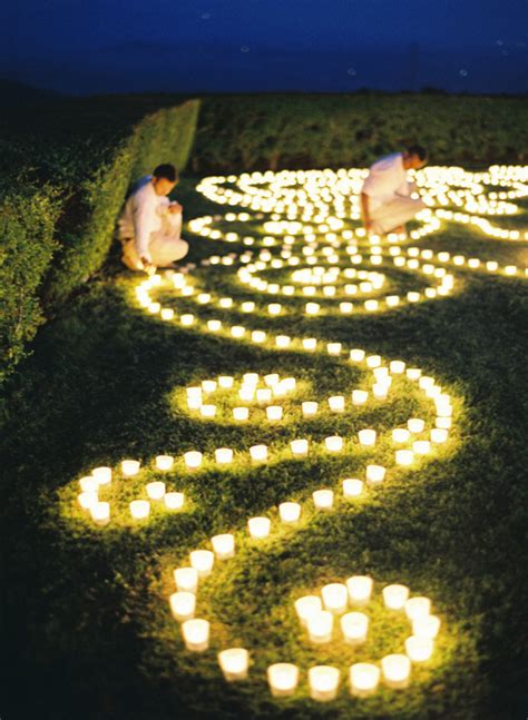 Outdoor Lighting Candles 15 Candle Decor Ideas