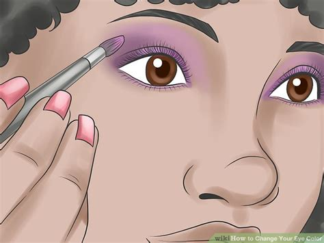 how to change your eye color to 4 ways to change your eye color wikihow