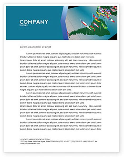 Bank Letterhead Template Bank Of America Letterhead Templates In Microsoft Word Adobe Illustrator And Other Formats