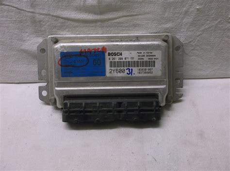 kia spectra 2003 engine 2003 03 kia spectra engine module ecu ecm pcm