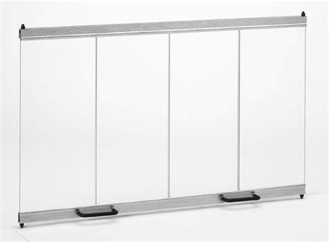 fd36 fixed glass doors for 36 quot fireplace fixed glass doors