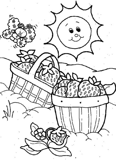 picnic coloring pages to download and print for free