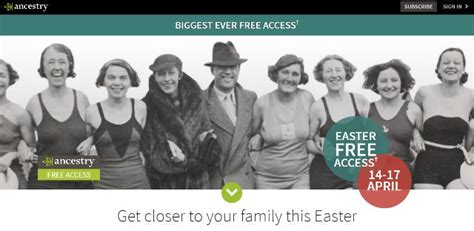 Free Access To Records Uk Genealogy Bargains For Friday 14 April 2017