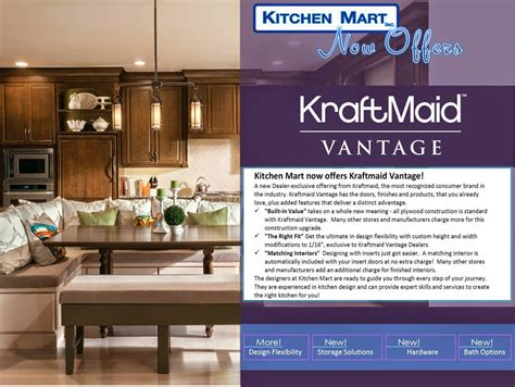 Kitchen Mart by Ruth Zavala S Colors Kitchen Mart Now Offers Kraftmaid
