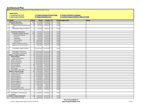6 construction schedule template excel procedure