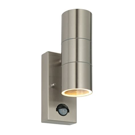 outdoor pir lights uk 51893 palin pir outdoor wall light the lighting superstore
